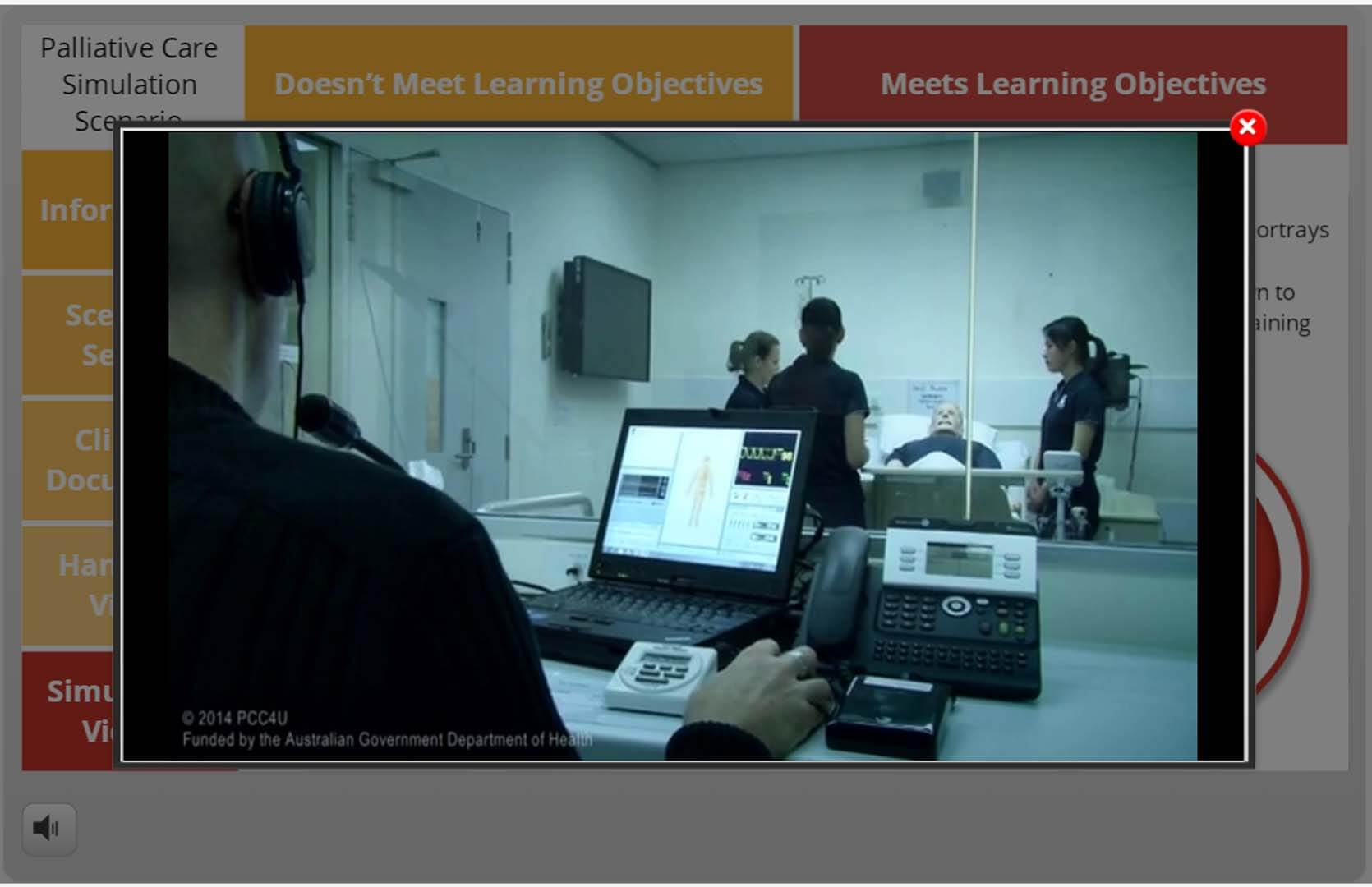 Simulation Scenario eLearning